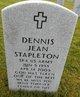 Profile photo:  Dennis Jean Stapleton