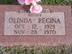Profile photo:  Olinda Regina Abbott