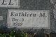Profile photo:  Kathleen M. <I>Lindey</I> Hanel