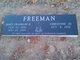 "Profile photo:  James F. ""Frank"" Freeman, II"
