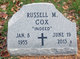 Russell M Cox