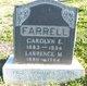 "Caroline Elizabeth ""Carrie"" <I>Dennis</I> Farrell"