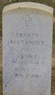Ernest Alexander