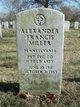 Profile photo:  Alexander Francis Miller
