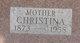 Profile photo:  Christina <I>Woehrle</I> Matheis