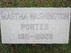 Martha Emily <I>Washington</I> Porter