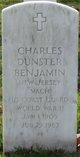Profile photo:  Charles Dunster Benjamin