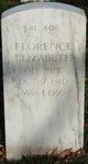 Profile photo:  Florence Elizabeth Benjamin