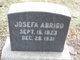 Josefa Abrigo