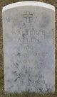 Walter E Allen