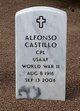 Profile photo:  Alfonso Castillo