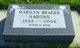 Profile photo:  Marilyn <I>Brager</I> Aarons