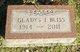 Gladys I Bliss