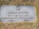 Pvt James Hester