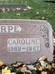 "Profile photo:  Caroline ""Carrie"" Chirpe"