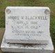 Mamie <I>Wilson</I> Blackwell
