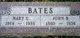 Mary E <I>Johnson</I> Bates