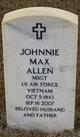 Johnnie Max Allen