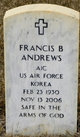 Profile photo:  Francis Barton Andrews