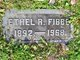 Profile photo:  Ethel <I>Riley</I> Fibbe