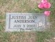 Profile photo:  Justiss July Anderson