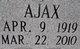 Profile photo:  Ajax Allen
