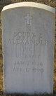 Bobby E Alexander