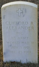Clifford R Alexander