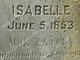 Isabelle <I>Reynolds</I> Ledford
