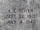 Lucius Clinton Boyer, Sr