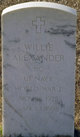 Willie Alexander
