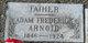 Profile photo:  Adam Frederick Arnold