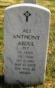 Ali Anthony Abdul