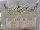 Jeffery M. Free