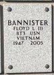 Profile photo:  Floyd Leslie Bannister, III