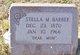 Stella May <I>Vandegrift</I> Barbee