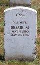 Profile photo:  Bessie M Garman