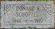 Profile photo:  Donald Ray Schopfer, Sr