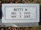 Betty M. Brown