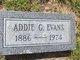Profile photo:  Addie Grace <I>Truitt</I> Evans