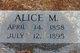Alice M. Jacobs