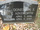 Donelson Scott Ainsworth