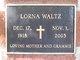 Profile photo:  Lorna <I>Windhorn</I> Waltz