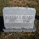 Profile photo:  Bertha Beard