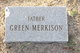 Profile photo:  Green Merkison
