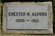 Profile photo:  Chester Wolcott Alvord