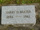 Harry Douglas Baxter