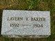 LaVern V Baxter