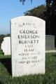 SGT George Emerson Burnett