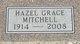 Hazel Grace <I>Dixon</I> Mitchell